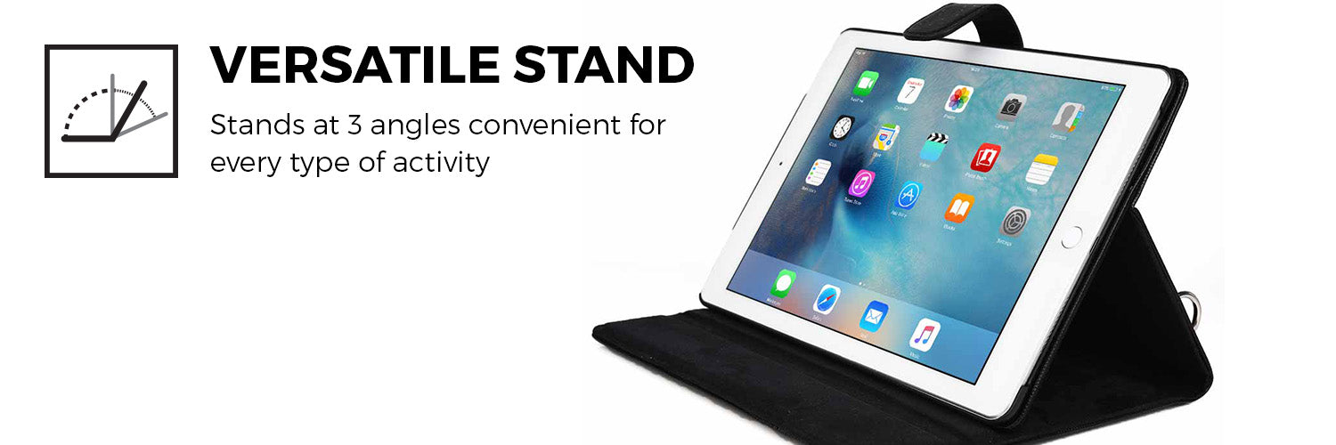 Cooper Magic Carry II PRO Shoulder Strap Folio for Apple iPad Pro 9.7 / iPad Air 2