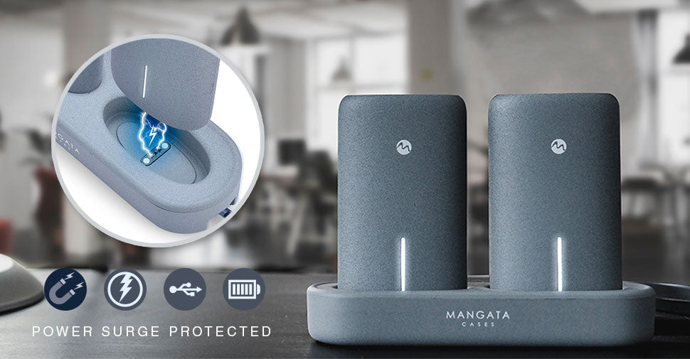 Mangata Orbit power bank charging station