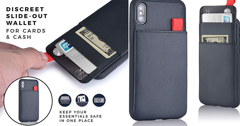Mangata Triton Hidden Wallet phone case