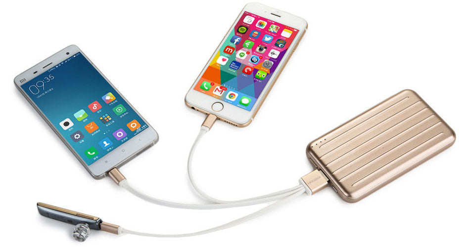 Multi tablet and smartphone power bank