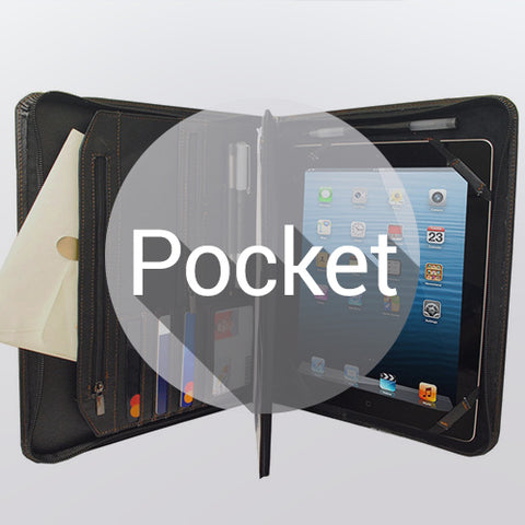 CASES WITH POCKETS