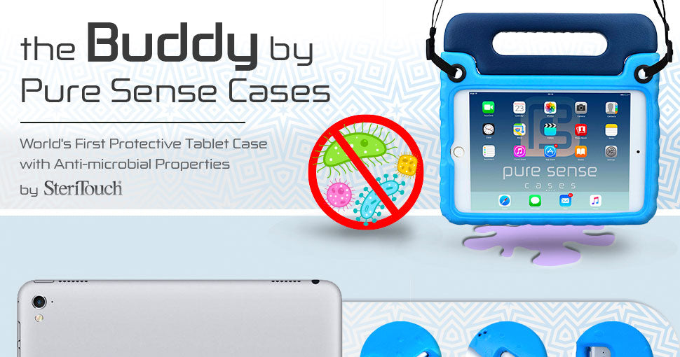 Pure Sense Buddy Antibacterial Kids Case