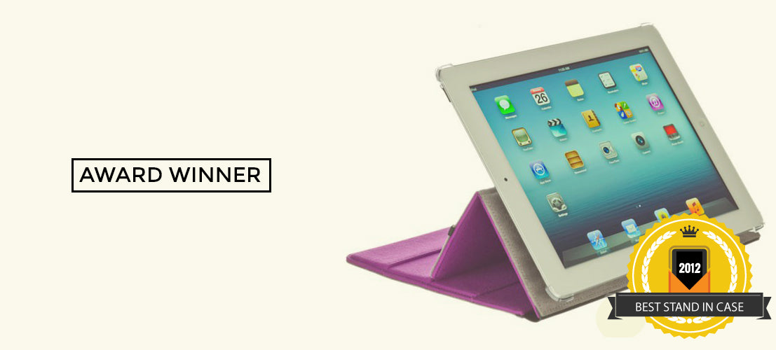 2012 Best tablet stand in folio case