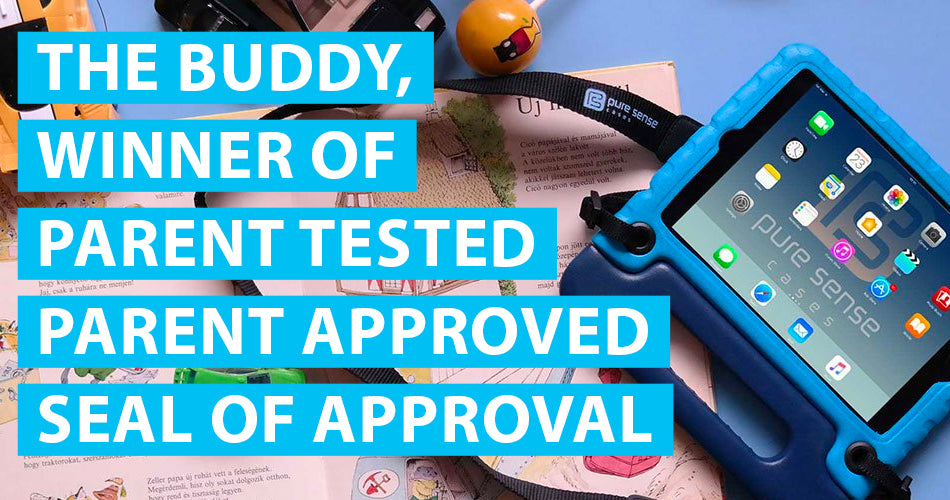 Buddy iPad case wins Parent Tested Parent Approved award