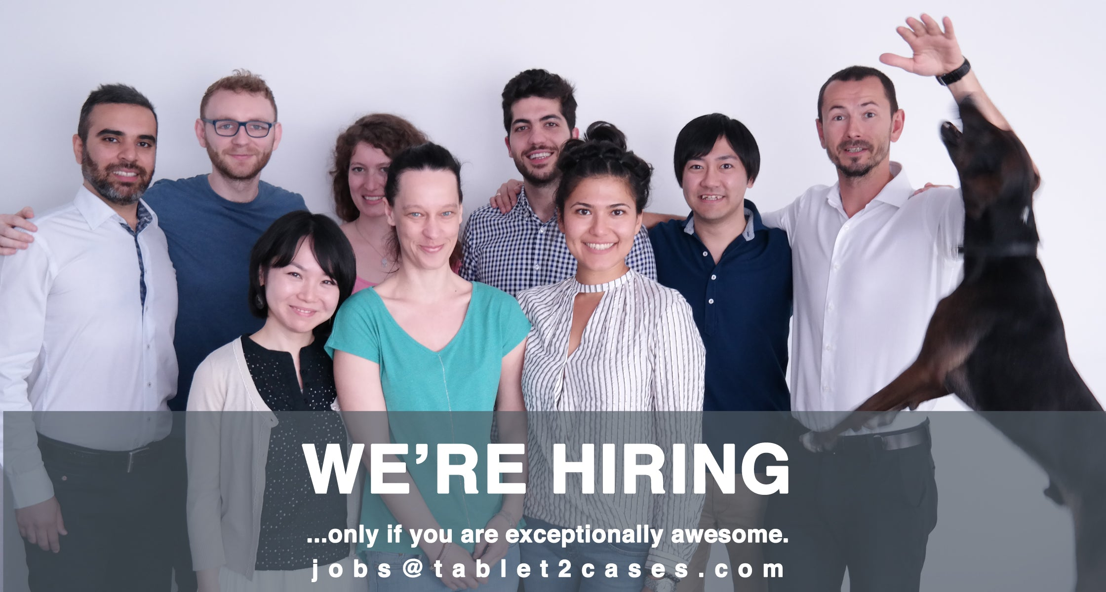 Tablet2Cases is hiring an Office Administrator