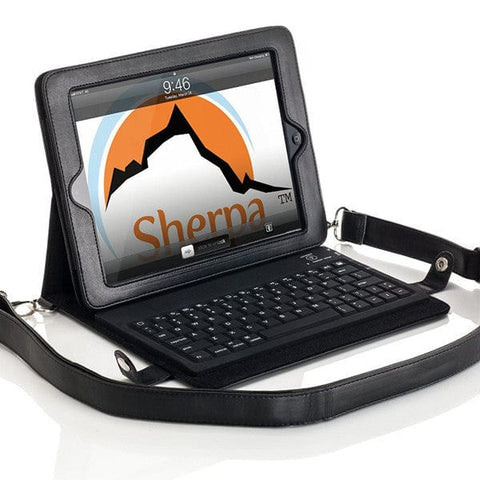Sherpa Carry Scribe Keyboard Folio for Apple iPad 2/3/4 - 1