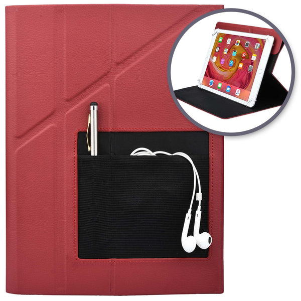 Cooper Rotating 360 Universal Portfolio Case for 7-8'', 9-10.1'' Tablets