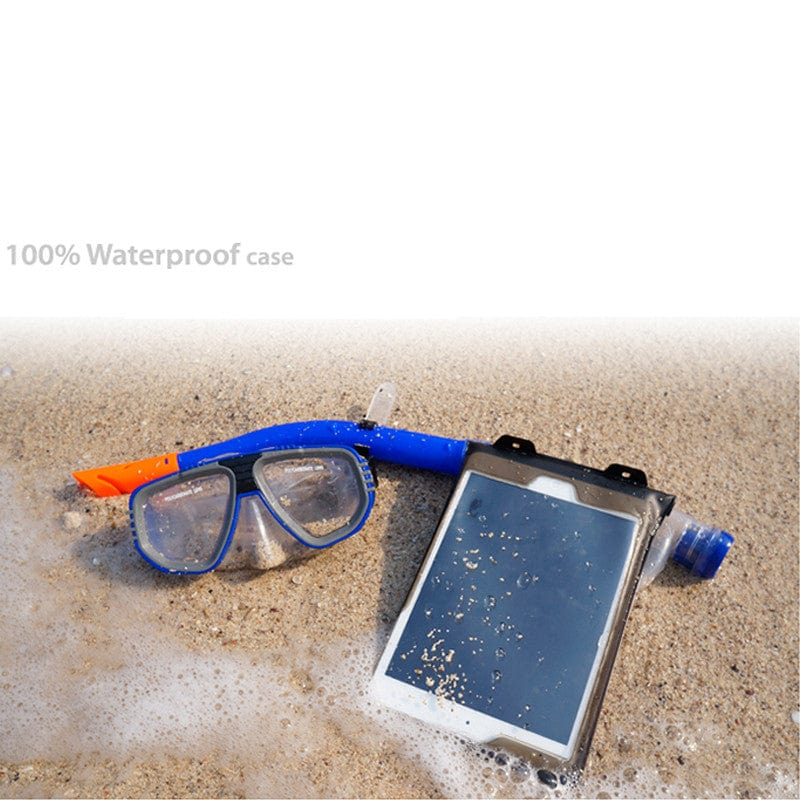 DiCAPac WP-i20 Floating Waterproof Case with Hand Strap for Apple iPad - 17