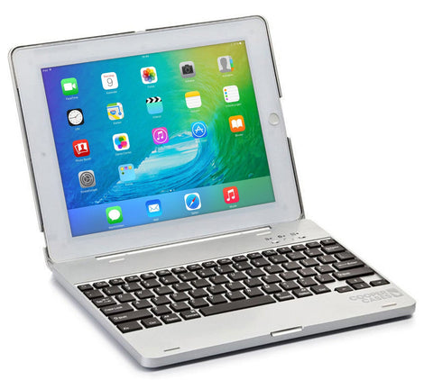 Cooper Kai Skel Keyboard Clamshell with built-in Power Bank for Apple iPad 2/3/4