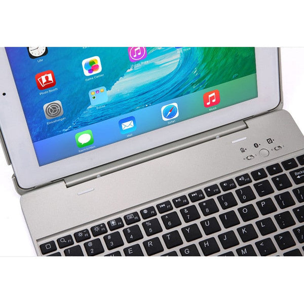Cooper Kai Skel Keyboard Clamshell with built-in Power Bank for Apple iPad 2/3/4 - 8
