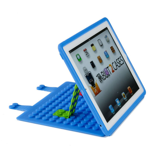 Cooper Blocks Kids Silicon Folio for Apple iPad 2/3/4 & iPad Mini 1/2/3 - 4