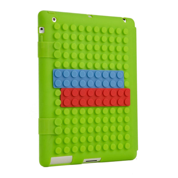 Cooper Blocks Kids Silicon Folio for Apple iPad 2/3/4 & iPad Mini 1/2/3 - 44