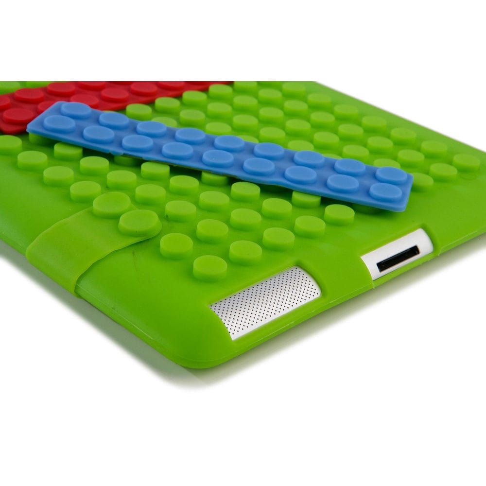 Cooper Blocks Kids Silicon Folio for Apple iPad 2/3/4 & iPad Mini 1/2/3 - 46