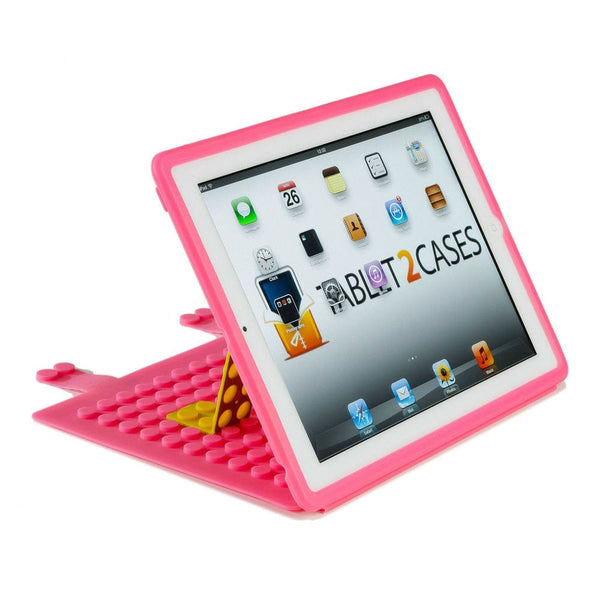 Cooper Blocks Kids Silicon Folio for Apple iPad 2/3/4 & iPad Mini 1/2/3 - 10