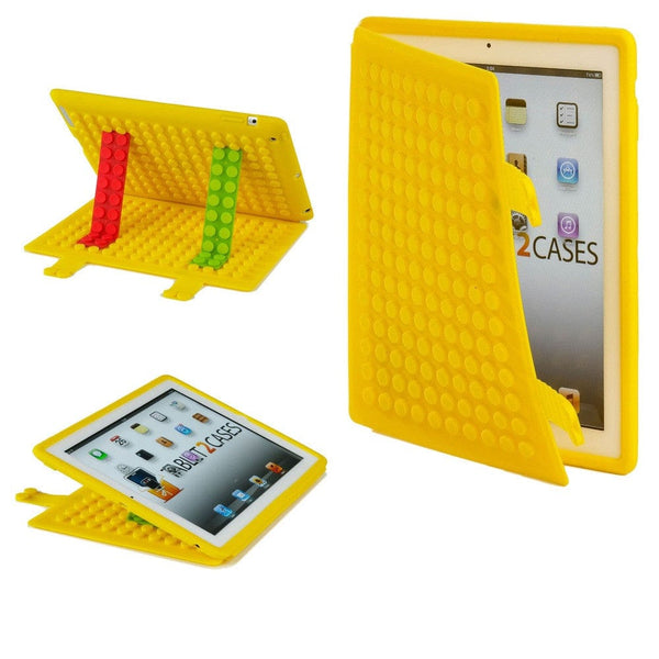 Cooper Blocks Kids Silicon Folio for Apple iPad 2/3/4 & iPad Mini 1/2/3 - 18