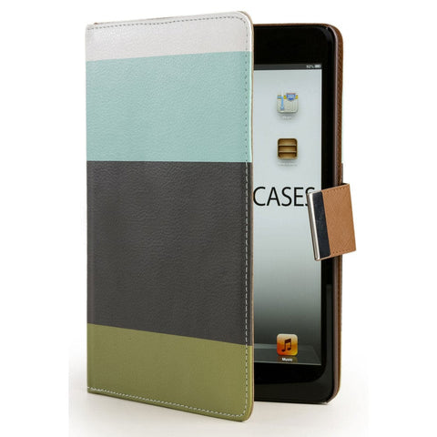 Cooper Stripes Portfolio Case for Apple iPad Mini 1/2/3 - 1