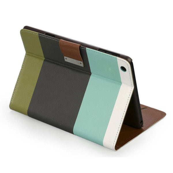 Cooper Stripes Portfolio Case for Apple iPad Mini 1/2/3 - 10