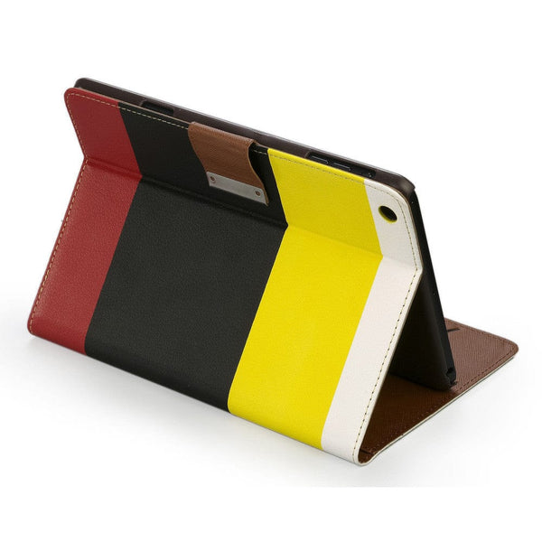 Cooper Stripes Portfolio Case for Apple iPad Mini 1/2/3 - 26