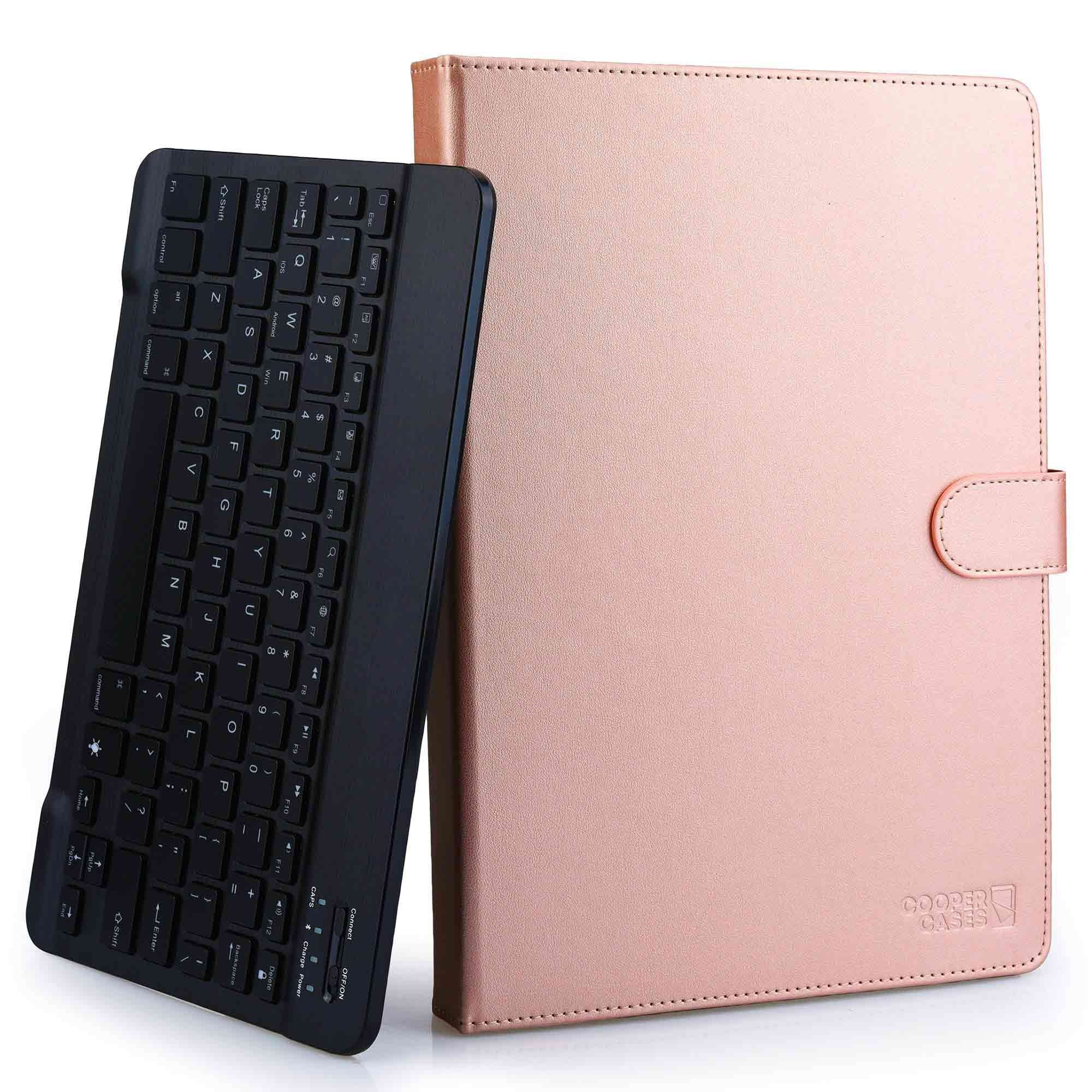 "Cooper Backlight Executive Universal Bluetooth Keyboard Folio for 9-10.5"" Tablets (with Backlit keys)"