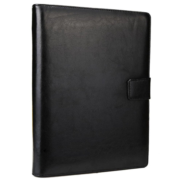 "Cooper FolderTab Executive Leather Portfolio Case with Notepad for all Apple iPads & 7-10"" Tablets - 4"