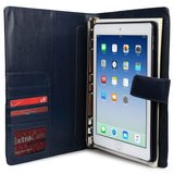 "Cooper FolderTab Executive Leather Portfolio Case with Notepad for all Apple iPads & 7-10"" Tablets - 5"
