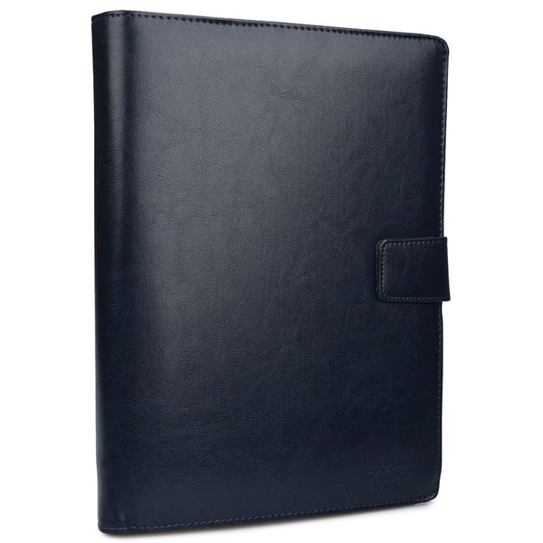 "Cooper FolderTab Executive Leather Portfolio Case with Notepad for all Apple iPads & 7-10"" Tablets - 8"
