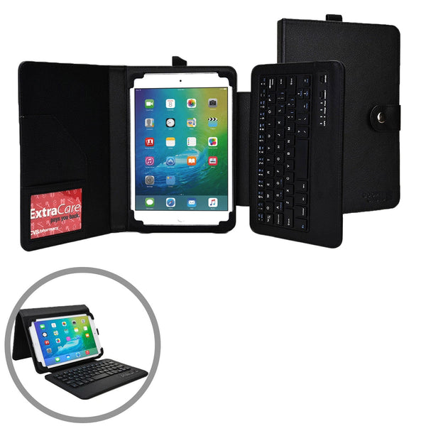 "Cooper Workstation Universal 7-8"" / 9-10"" Tablet Business Tri-Fold Portfolio Keyboard Case - 3"