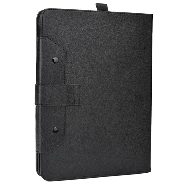 "Cooper Workstation Universal 7-8"" / 9-10"" Tablet Business Tri-Fold Portfolio Keyboard Case - 8"