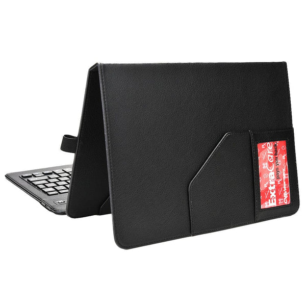 "Cooper Workstation Universal 7-8"" / 9-10"" Tablet Business Tri-Fold Portfolio Keyboard Case - 11"
