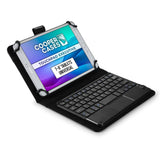 Cooper Touchpad Executive Universal Keyboard Folio for 7-8'' Tablets (with Touch Mouse Trackpad)