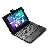 Cooper Touchpad Executive Universal Keyboard Folio for 8-8.9'' Tablets (with Touch Mouse Trackpad)