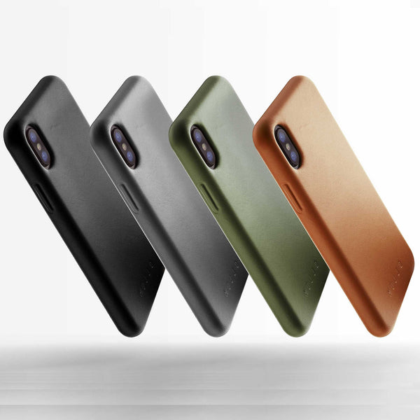 Mujjo Full Leather case for Apple iPhone Xs, iPhone X