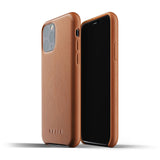 Mujjo Leather case for iPhone 11 Pro in Tan
