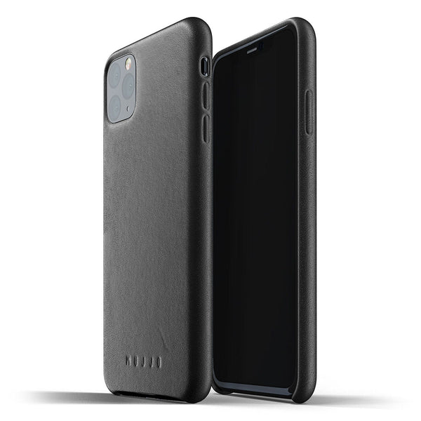Mujjo Full Leather case for iPhone 11 Pro Max in Black