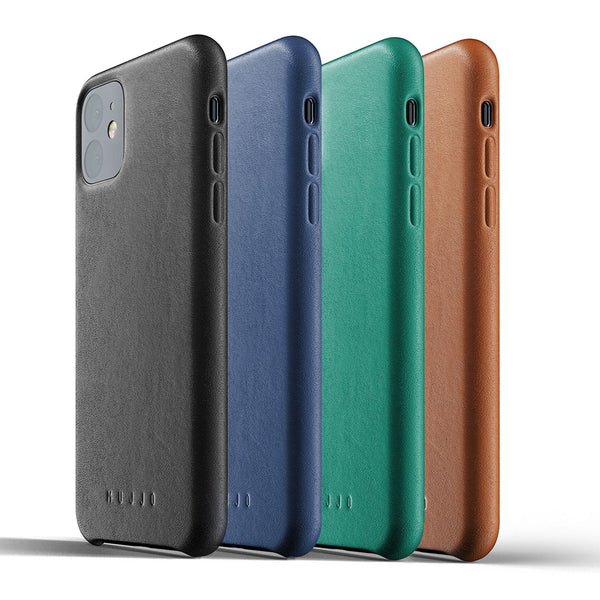 Mujjo Full Leather case for Apple iPhone 11 in 4 colors