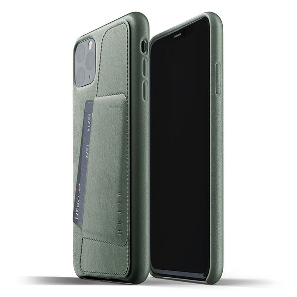 Mujjo Full Leather Wallet case for Apple iPhone 11 Pro Max
