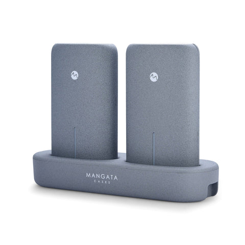 Mangata Orbit Dual Power Bank Set with Wireless Charging Station