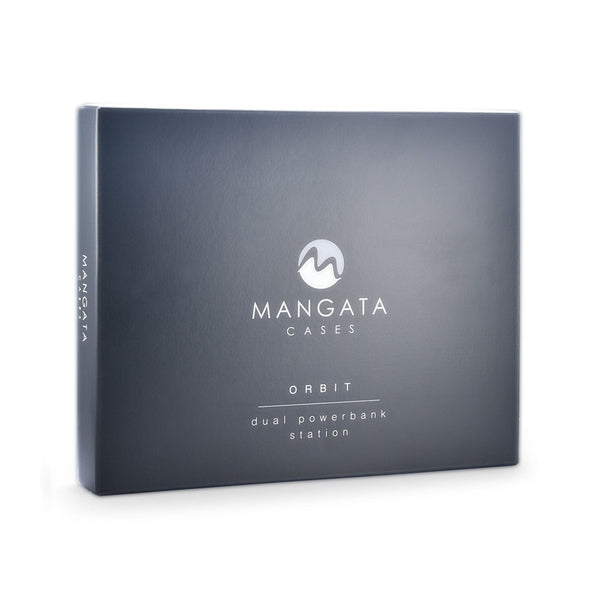 Mangata Orbit 10,000 mAh Dual Power Bank Set with Wireless Charging Station