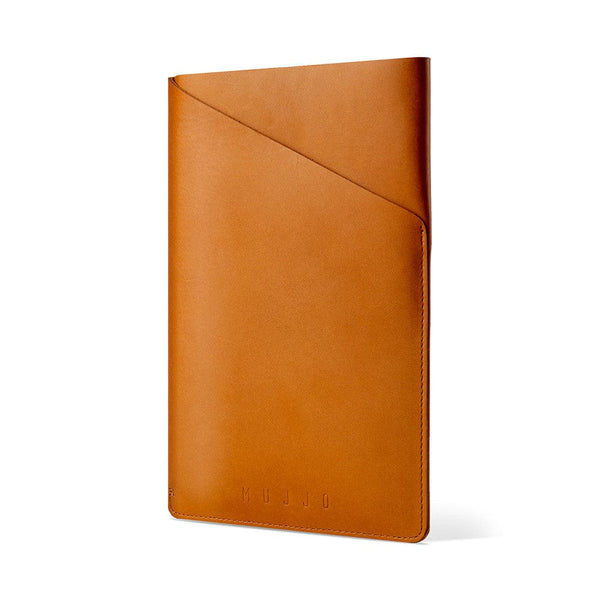 Mujjo Slim Fit Leather Sleeve for Apple iPad Air 1/2 & Mini 1/2/3/4 - 15