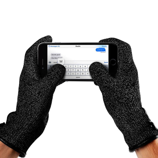 Mujjo Single Layered Touchscreen Gloves for Tablets and Smartphones - 2