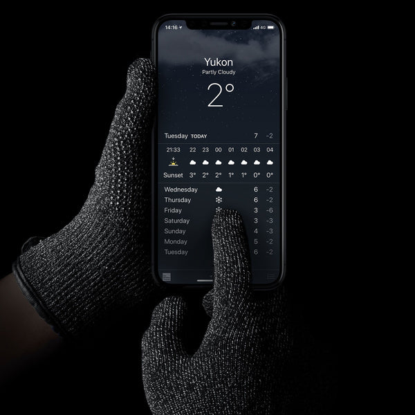 Mujjo Knitted Touchscreen Winter Gloves for Tablets and Smartphones