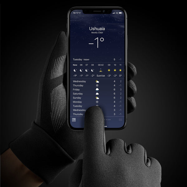 Mujjo Insulated Touchscreen Gloves for Winter with 3M Thinsulate (2019 Update)