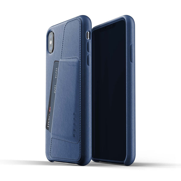 Mujjo Full Leather Wallet case for Apple iPhone Xs Max