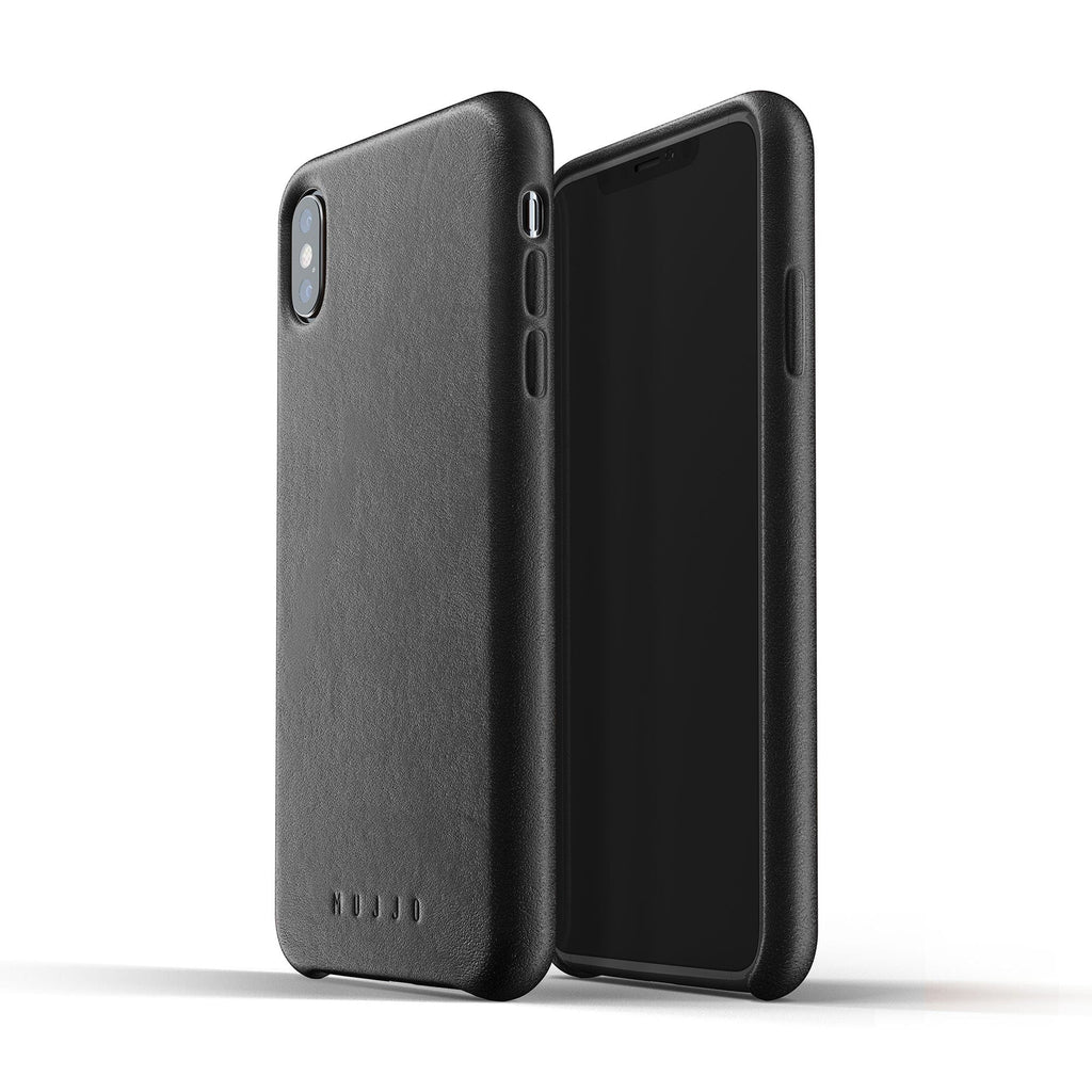 Mujjo Full Leather Case For Apple Iphone Xs Max Tablet2cases