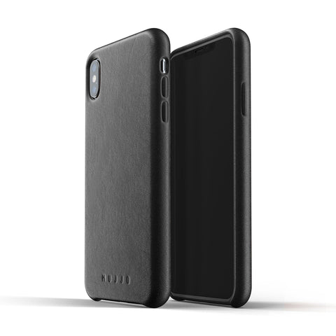 Mujjo Full Leather case for Apple iPhone XS Max