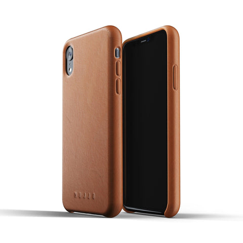 Mujjo Full Leather case for Apple iPhone Xr