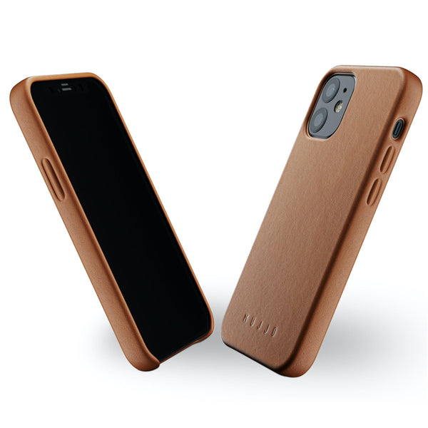 Mujjo Full Leather case for Apple iPhone 12 mini