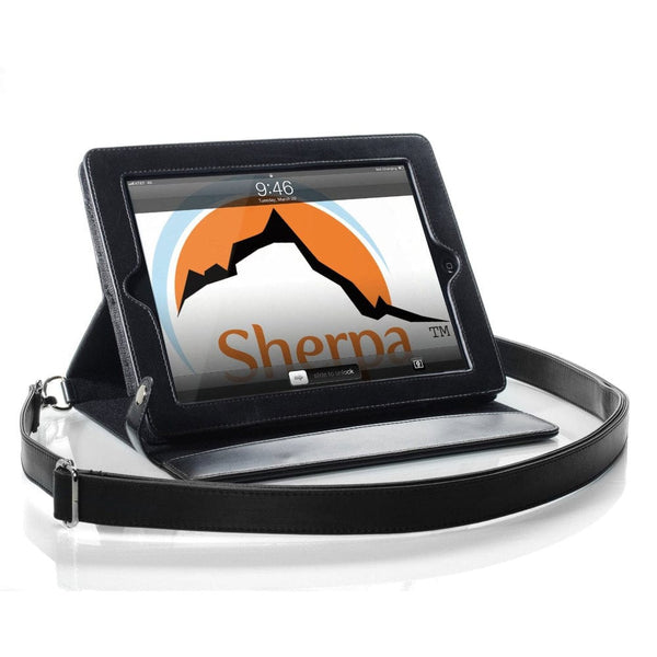 Sherpa Carry Magnetic Folio Case with Shoulder Strap for all Apple iPads - 2