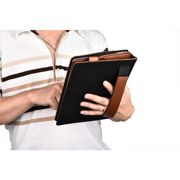 Sherpa Carry Magnetic Folio Case with Shoulder Strap for all Apple iPads - 31