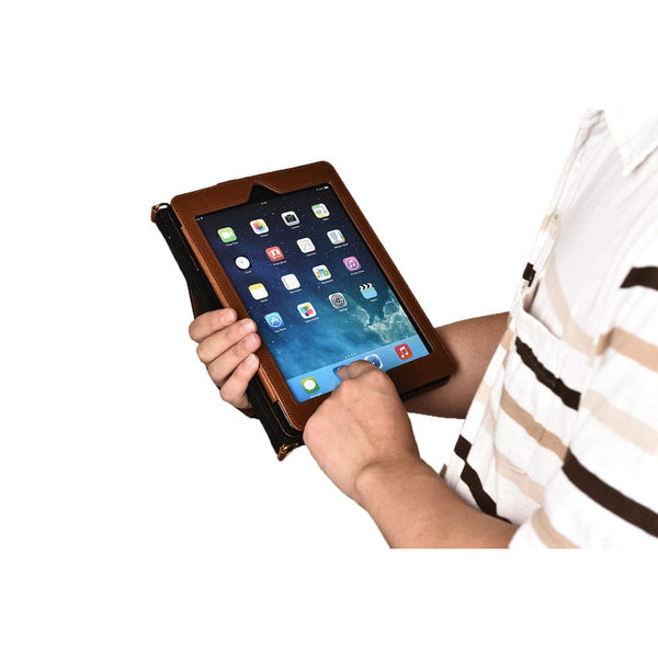 Sherpa Carry Magnetic Folio Case with Shoulder Strap for all Apple iPads - 8